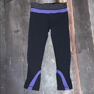 Lululemon crop capri pants size 4